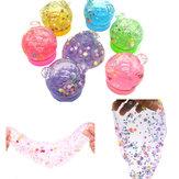 1 stücke Kristall SLIME DIY Emoji Uhr Schlamm ungiftig Silly Putty Polyer Parodie Baby Spielzeug Lustige kind Spielzeug Gi