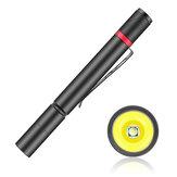 XANES® 530A XPE 150LM 3 modes Mini lampe de poche de poche stylo portable lumière Mini torche tactique pour dentiste Camping randonnée