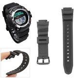 Vervanging zwarte polsband riem voor CASIO horloge SGW300 SGW300-300h SGW400-400h SGW300 SGW400
