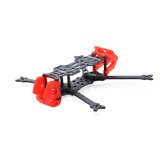 GEPRC Crocodile GEP-CB4 4 Inch 174mm Wheelbase Frame Kit compatible DJI FPV Air Unit for RC FPV Racing Drone 20x20mm*26.5×26.5mm