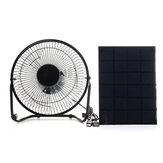 Panneau solaire 5W 6V avec port USB pour ventilateur de refroidissement 8 pouces