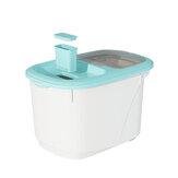 Conteneur de riz de grain de nourriture de cuisine de boîte de rangement de distributeur de céréales 10 / 20KG
