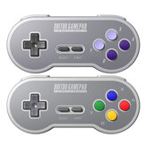 Controller da gioco 8BitDo SN30 / SF30 2.4G Wireless Gamepad per console SNES / SFC originale