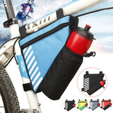 Bicycle Front Frame Triangle Bag Water Bottle Holder Waterproof Bike Bag Storage Basket