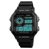 SKMEI1299CountdownAlarmroestvrijstalen digitaal horloge