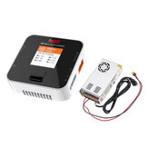 ISDT Q6 Nano BattGo 200W 8A Lipo Battery Charger With Hobbyporter 24V 16.7A 400W Power Supply Adapter US Plug
