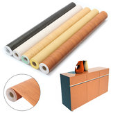 0.6X10m Waterproof Self-adhesive Wood Wallpaper Furniture Sticker Home Decorations
