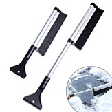 65cm Retractable Snow Brush with Ice Scraper Garden Car Snow Removaling Shovel Tool