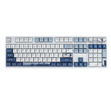 120 Keys Crane Seal Keycap Set XDA Profile PBT Five-sided Sublimation Keycaps for Mechanical Keyboard