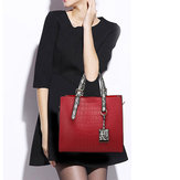 Borsa Donna Fashion Stone Crocodile Modello Ladies Borsa