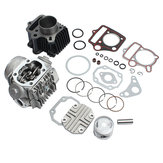 Cylinder Engine Motor Rebuild Kit For Honda ATC70 CT70 TRX70 CRF70 XR70 70cc