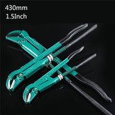 Raitool® 1.5 بوصة صنبور المياه كماشة أنابيب السباكة تركيبة وجع قبضة سباك اليد أدوات 430mm