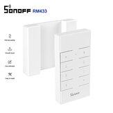 SONOFF® RM433 Le commutateur de télécommande RF multifonction à 8 touches personnalisé 433 MHz fonctionne avec le pont SONOFF RF / RFR3 / Slampher / iFan03 / 4CHProR2 / TX / 433 RF