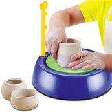 Mini DIY Keramische Aardewerk Machine Aardewerk Wielen Kids Arts Craft Educatief Gift