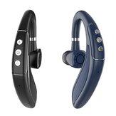 Bakeey H18 bluetooth V5.0 Fones de ouvido DSP CVC6.0 Fone de ouvido NFC de redução de ruído 250mAh ajustável sem fio empresarial único fone de ouvido com microfone