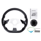 320mm Universal Leather Racing Steering Wheel Sports Drifting Steering Wheel