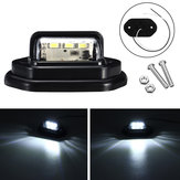 12V LED License Plate Lights Interior Step Lamp For Car Truck Trailer Pickups RV