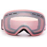 4 Color Anti-fog Ski Goggles Clear Double-Lens Winter Skiing Snowboard Snow Glasses