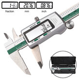 DANIU Digital Stainless Steel Caliper 150mm 6 Inches Inch / Metric / Fraksi Konversi Resolusi 0.01mm dengan Kotak