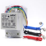 5M/10M DF96D Auto Water Level Controller AC220V 5A Din Rail Mount Float Switch With 3 Probes Pump