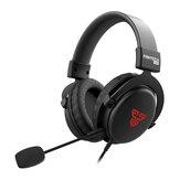 Fantech mh82 gaming Fones de ouvido 3.5mm pc com fio fones de ouvido estéreo fones de ouvido com microfone para jogador profissional jogo fps