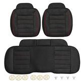 3pcs cuoio auto anteriore sedile posteriore coperture universale sedile protettore sedile cuscino pad mat