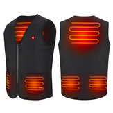Electric Heated Vest 3 Modes Adjustable USB Rechargeable Winter Warm Heating Jacket Washable Outdoor