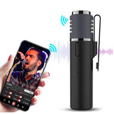 Smartmic Lavalier Lable bluetooth Wireless Microphone Smartphone Vlog Mic ZealSound Audio Video Real-Time Recording Microphone