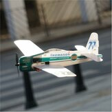Minimo RC F8F Rarebear V2 360mm Wingspan KT Board Mini RC Kit aereo con motore Coreless 8520