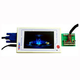 TV160 Full HD LVDS Turn VGA (LED/LCD)TV Mainboard Tester Tools Converter With Five Adapter Plate
