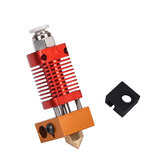 Hotend Extruder Kit 1.75mm 0.4mm Nozzle J-head Heater Block for Ender-3 CR10 3D Printer Parts