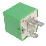 Relais de ventilateur de refroidissement 5 broches 12 V 35A pour Peugeot 206207306307406407807 6547TX