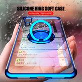 Bakeey support de voiture magnétique support de bague mince placage de couleur Soft étui de protection en TPU pour Xiaomi Mi9 / Mi 9 édition transparente non originale