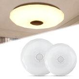 Kısılabilir 36W AC220V LED RGB Müzik Tavan Lamba APP + Uzaktan Kumanda Yatak Odası Çalışma Oturma Odası