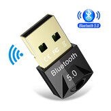 Bakeey USB Bluetooth 5.0 Dongle Adaptador Mouse Sem Fio bluetooth Música Transmissor Receptor de Áudio para PC Computador Speaker