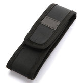 12-17cm LED Flashlight Holster Nylon Belt Carry Case Holder Storage Bag