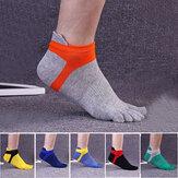 Cinq orteils chaussettes sports de plein air de la chaussette de déodorant anti-bactérien épais confortable chaussettes casual