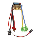 Brushed ESC 480A Water Air Cooled Waterproof Double Side ESC For RC Boat