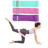 3Pcs/Set Home Fitness Resistance Bands Sport Gymnastics Training Body Shaping Yoga Belt