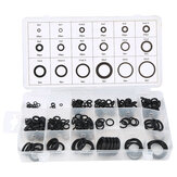 Suleve™ MXRW3 225Pcs Rubber O Ring Washer Hydraulic Plumbing Gasket Seal Assortment Set