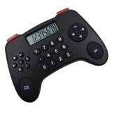 8 Digital Display Calculator Gamepad Shape Financial Business Accounting Tool Children Office Calculator Supplies