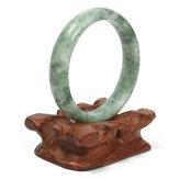 Joyería de pulsera de brazalete de piedras preciosas de jade verde chino