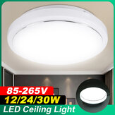 11'' 30W/24W/12W LED Ceiling Light Thin Flush Mount Fixture Lamps Bathroom Home