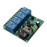 2Pcs DC12V ESP8266 Relè Wifi a quattro canali IOT Smart Home Phone APP remoto Modulo interruttore di controllo