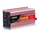 60Hz-es inverter intelligens képernyő szolár tiszta szinuszhullámú inverter 3000W csúcs DC 12V / 24V / 48V / 60V AC 220V 240V átalakító