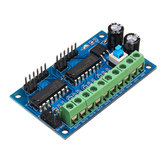 5pcs L293D 4 DC Motor Drive Module Motor Driver Intelligent H-bridge For 4WD Car Robot