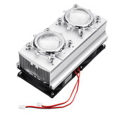 100W High Power Heatsink Cooling with Fans 44mm Lens +Reflector Bracket for DIY LED Lamp