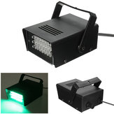 24LED 3W AC220V Groene Strobe Party Stage Light Disco Club DJ Effect Verlichting EU / US Plug