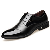 Microfiber Formal Dress Shoes Business Oxfords