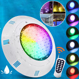 AC / DC12V 35W 360LED RGB Underwater Swimming Piscina Light 2835SMD IP68 Controle Remoto Chafariz
